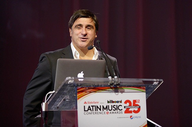 Afo Verde at the Billboard 2014 Latin Music Conference