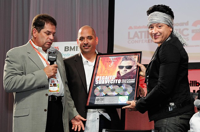 Elvis Crespo at the Billboard 2014 Latin Music Conference