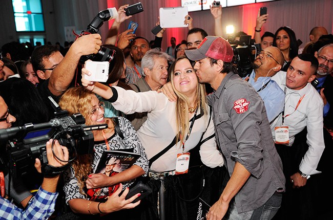 Enrique Iglesias at the Billboard 2014 Latin Music Conference