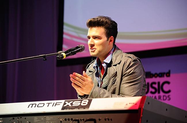 Jencarlos Canela at the Billboard 2014 Latin Music Conference