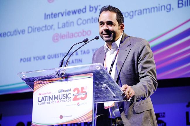 Jorge Mejia at the Billboard 2014 Latin Music Conference
