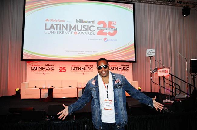 Lance Matthews at the Billboard 2014 Latin Music Conference