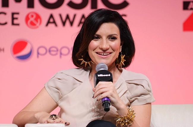 Laura Pausini at the Billboard 2014 Latin Music Conference