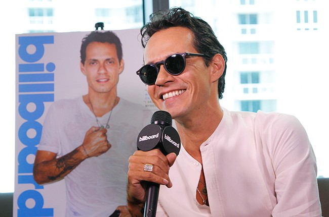 Marc Anthony at the Billboard 2014 Latin Music Conference