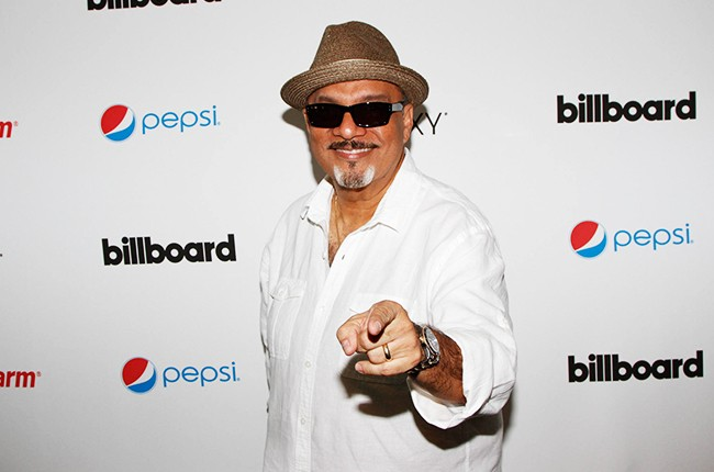 Omar Alfanno at the Billboard 2014 Latin Music Conference