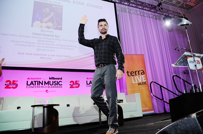 Juanes at the Billboard 2014 Latin Music Conference