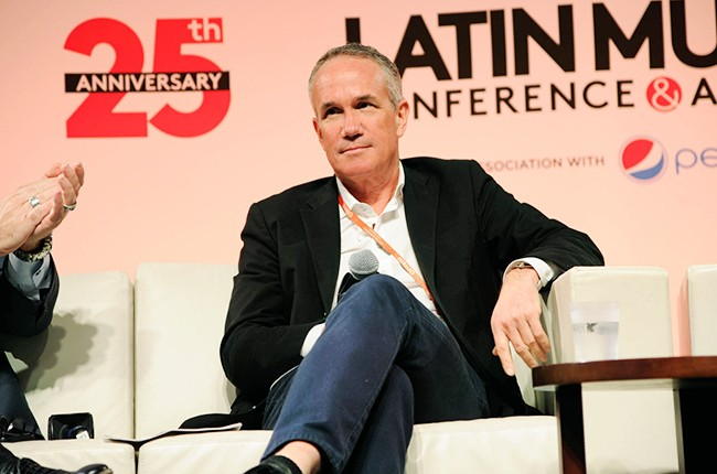 Tom Corson at the Billboard 2014 Latin Music Conference