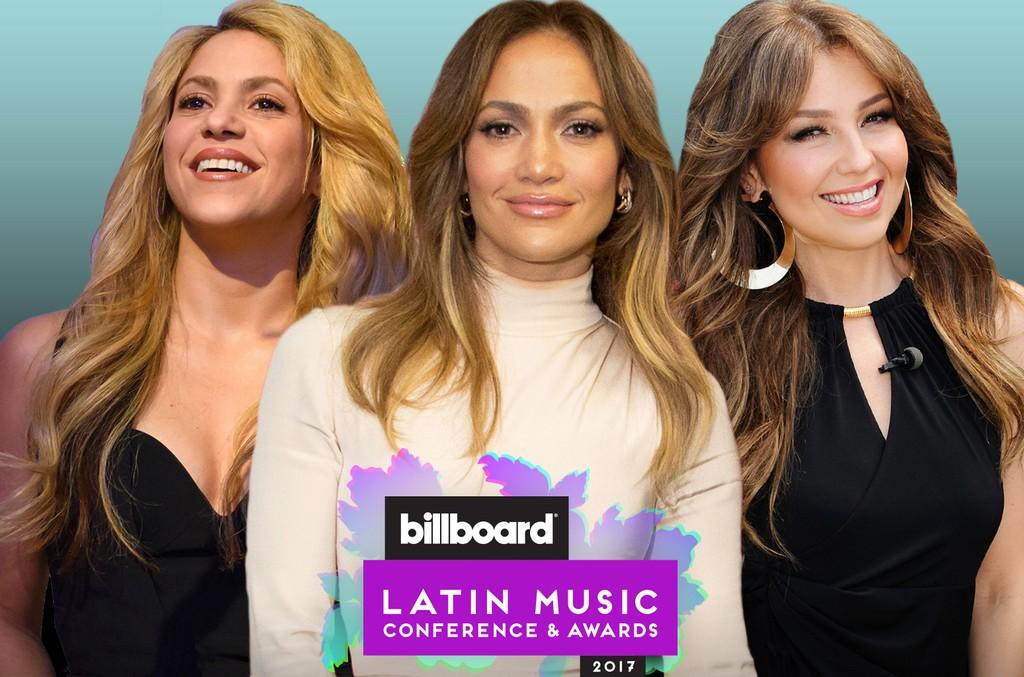 Shakira, Jennifer Lopez and Thalia