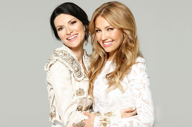 Laura Pausini and Thalia, 2014.