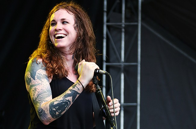 Laura Jane Grace from Against Me!
