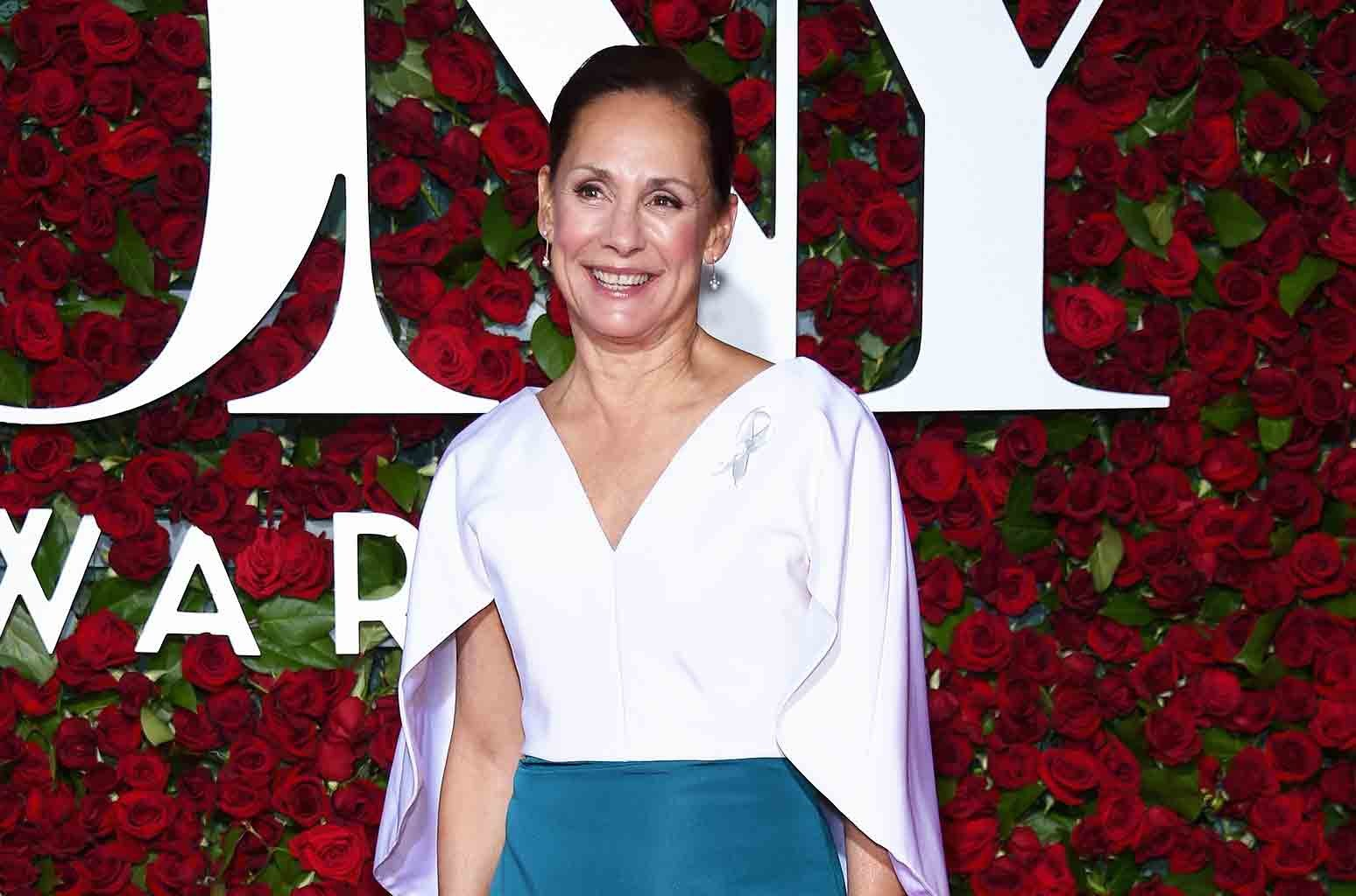 Laurie Metcalf attends the 70th Annual Tony Awards at The Beacon Theatre on June 12, 2016 in New York City.