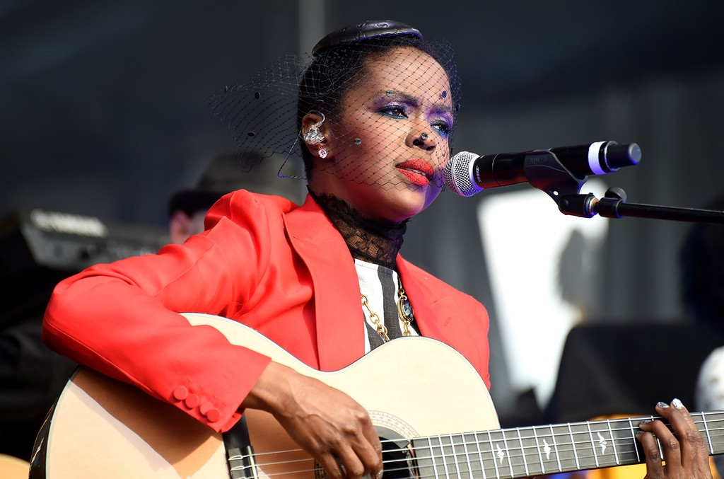 Lauryn Hill performs in 2016