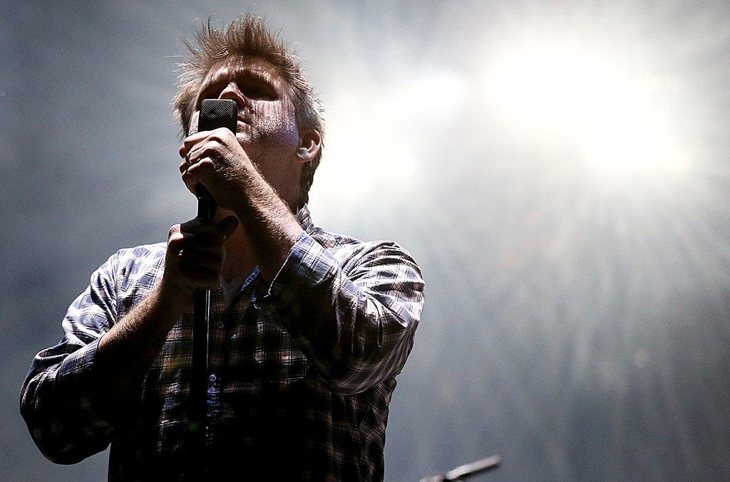LCD Soundsystem performs at Austin City Limits Music Festival