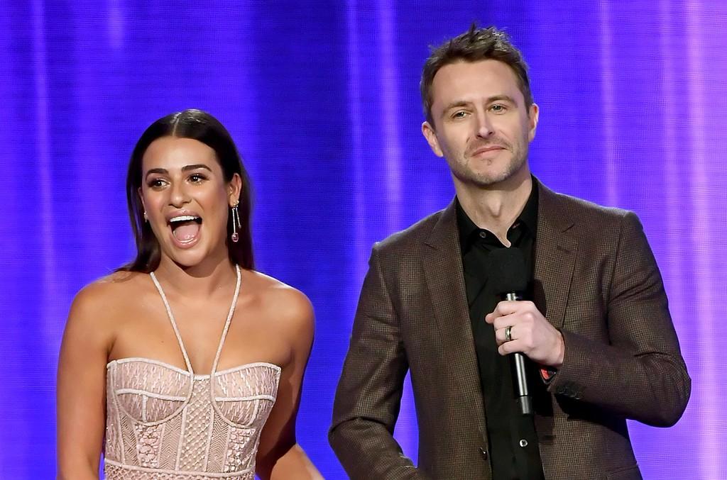 Lea Michele & Chris Hardwick, 2017