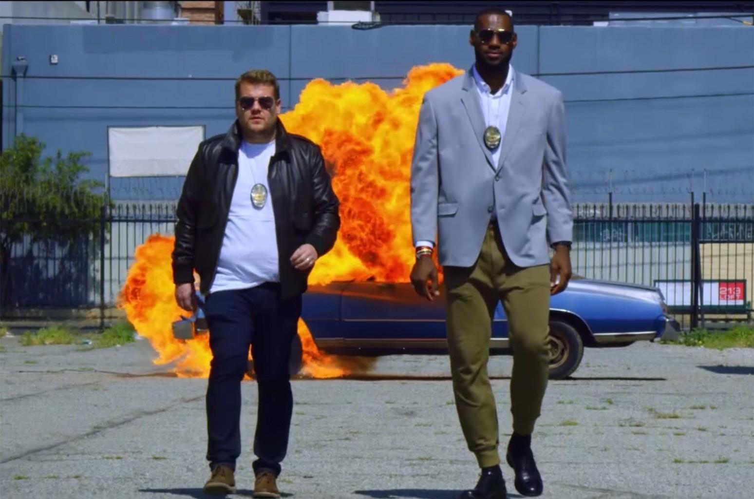 Lebron James and James Corden, Carpool Karaoke