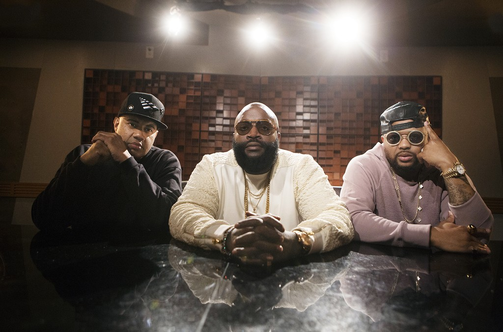 Lenny S, Rick Ross and The-Dream on VH1's Signed