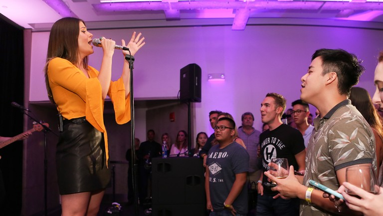 <p>Léon performs during&nbsp&#x3B;Billboard&#39&#x3B;s Next Up event at the W Hotel in New York City on Aug. 7, 2017.&nbsp&#x3B;</p>
