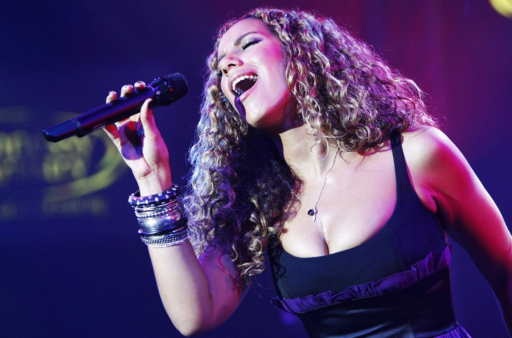 Leona Lewis performs at the 3rd annual Hennessy Artistry finale at Gotham Hall on Oct. 15, 2008 in New York City.