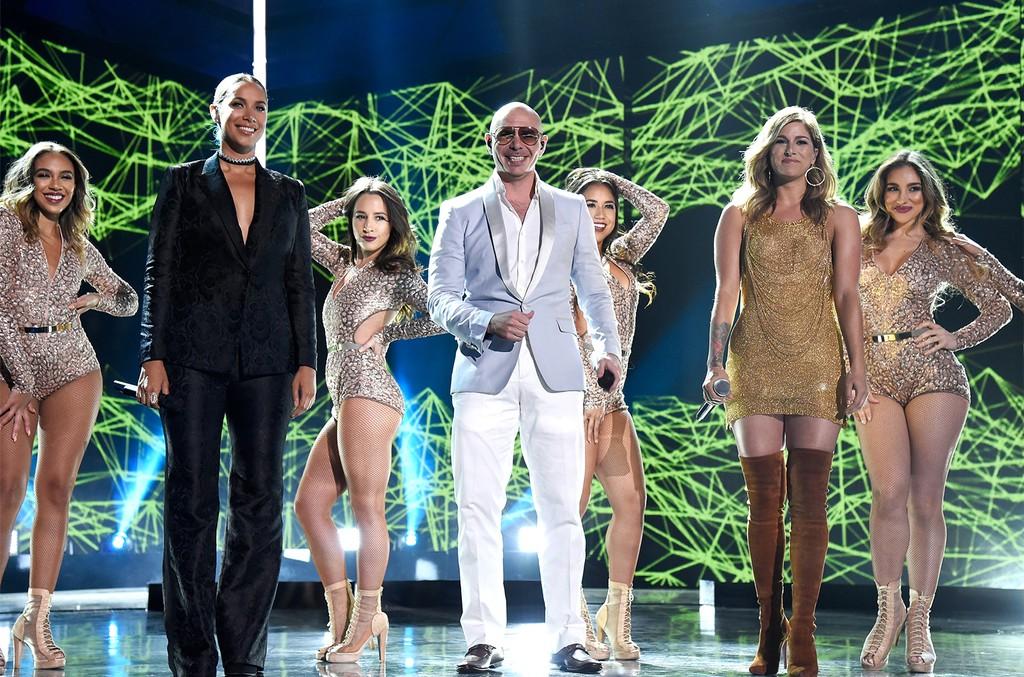 Leona Lewis and Pitbull