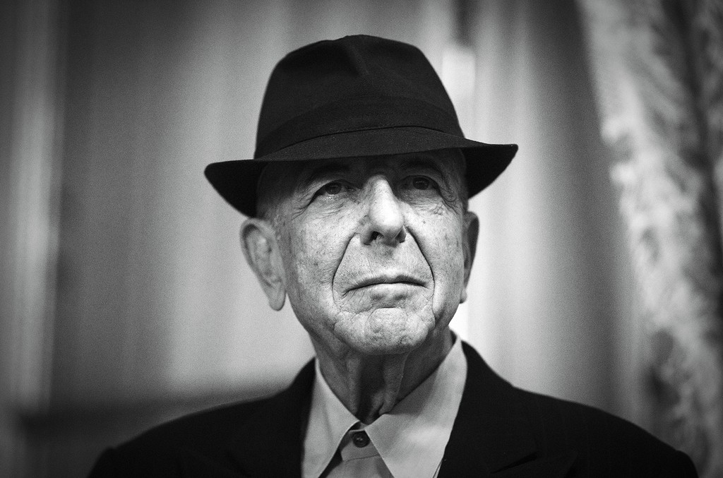 Leonard Cohen in 2012