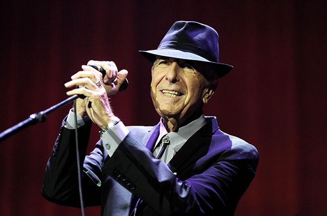 Leonard Cohen, 2013.