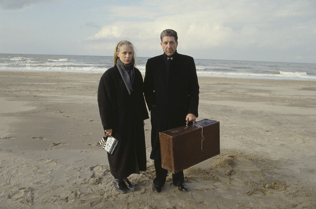 Leonard Cohen and Dominique Issermann
