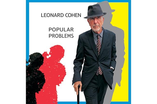 "Leonard Cohen's ""Popular Problems"" 2014 Album Cover"