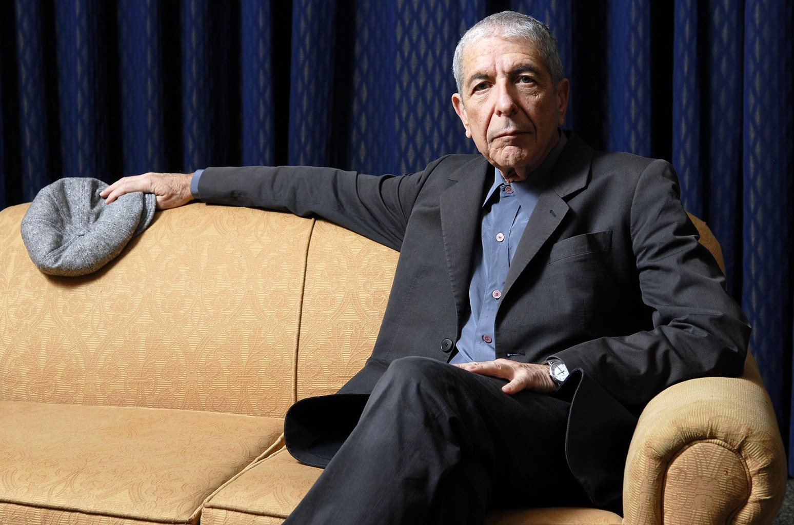 Leonard Cohen photographed in Toronto