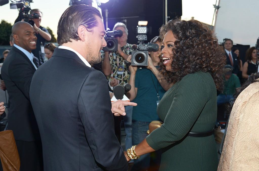 Leonardo DiCaprio Oprah Winfrey