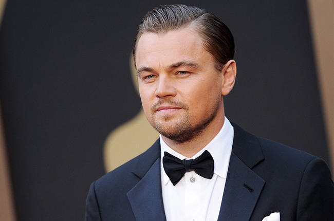 Leonardo DiCaprio arrives at the 86th Annual Academy Awards at Hollywood & Highland Center on March 2, 2014 in Hollywood, California.