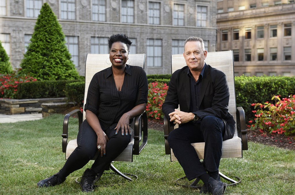 Leslie Jones and Tom Hanks