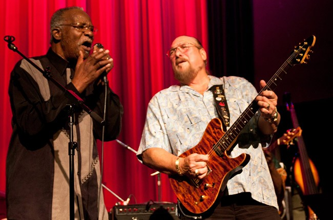 Lester Chambers and Steve Cropper in 2011