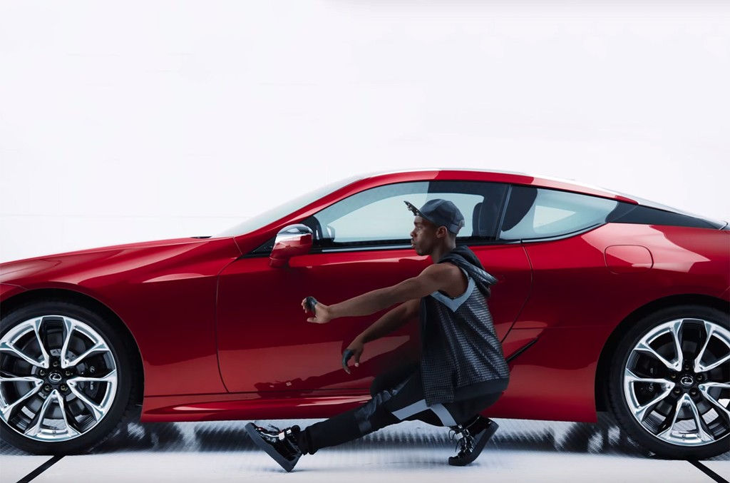 "Lexus's Man & Machine Super Bowl ad featuring Sia's ""Move Your Body."""