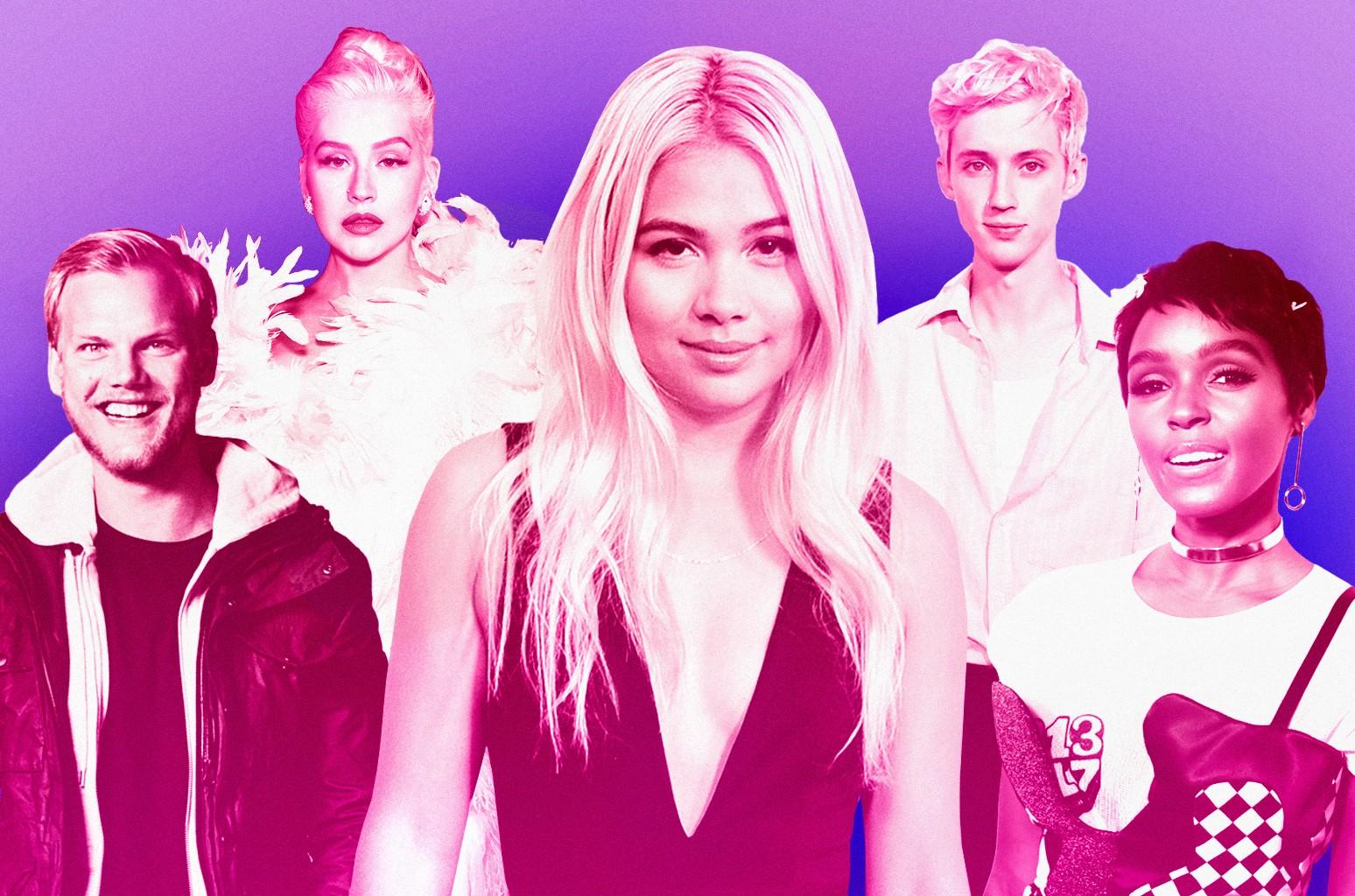 Avicii, Christina Aguilera, Hayley Kiyoko, Troye Sivan & Janelle Monae