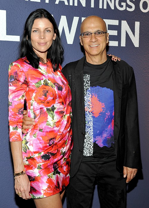Liberty Ross and Jimmy Iovine attend the Hammer Museum Gala in Garden