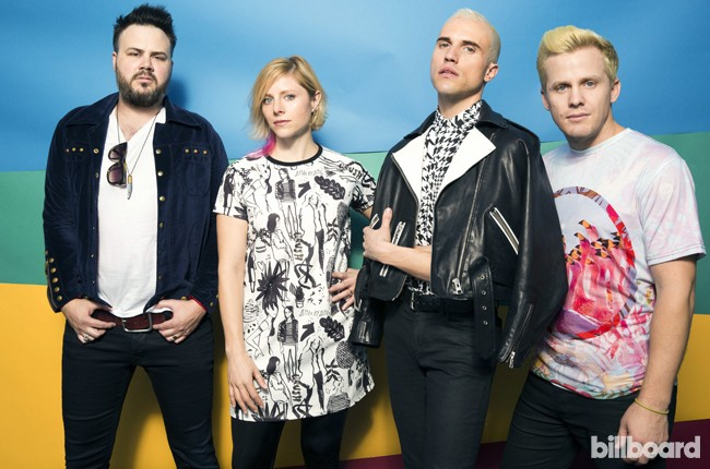 Neon Trees at Life Is Beautiful 2014