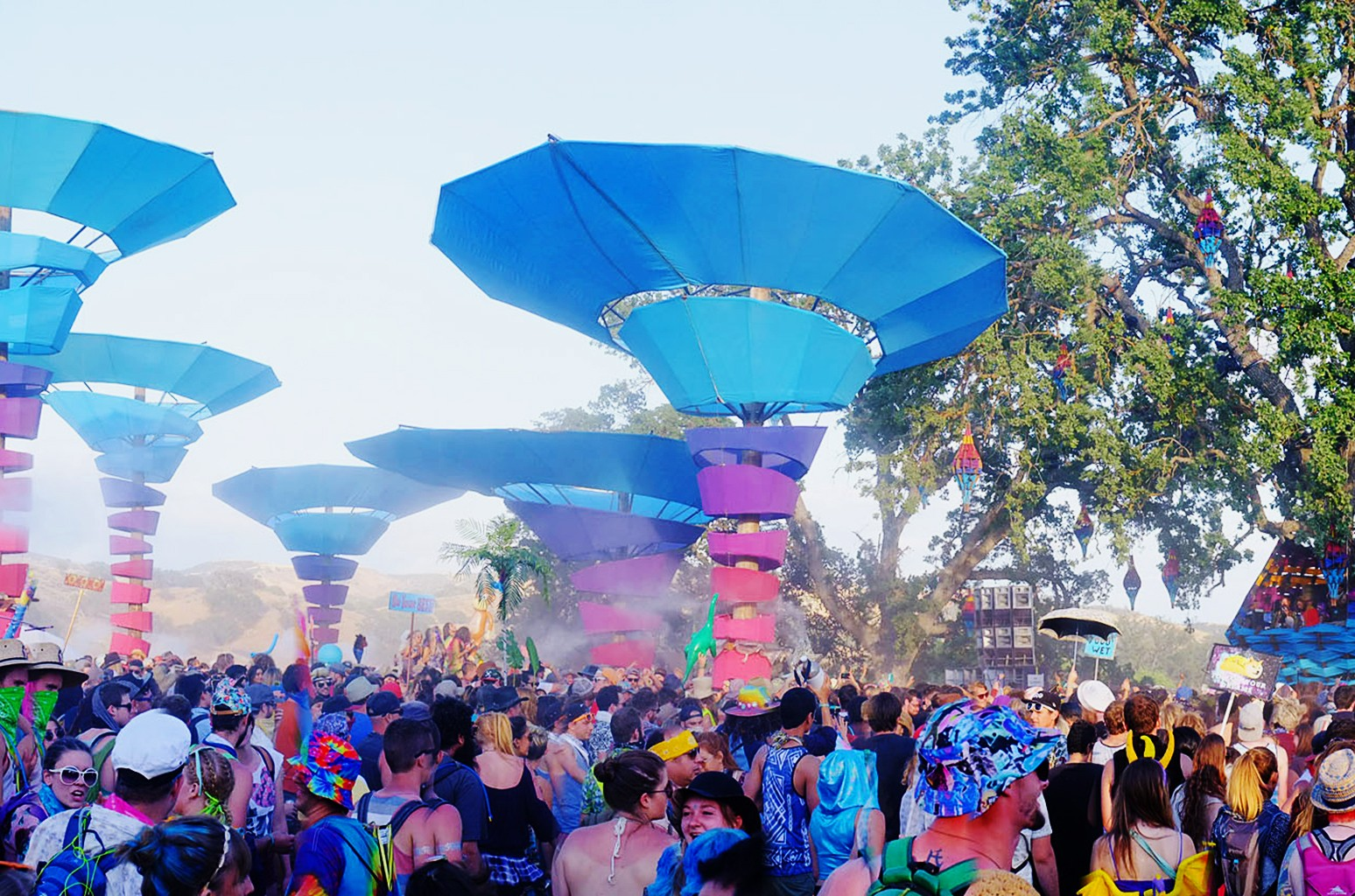A general view of The Woogie Stage during the 2015 Lightning In A Bottle Festival on May 22, 2015 in San Miguel, Calif.