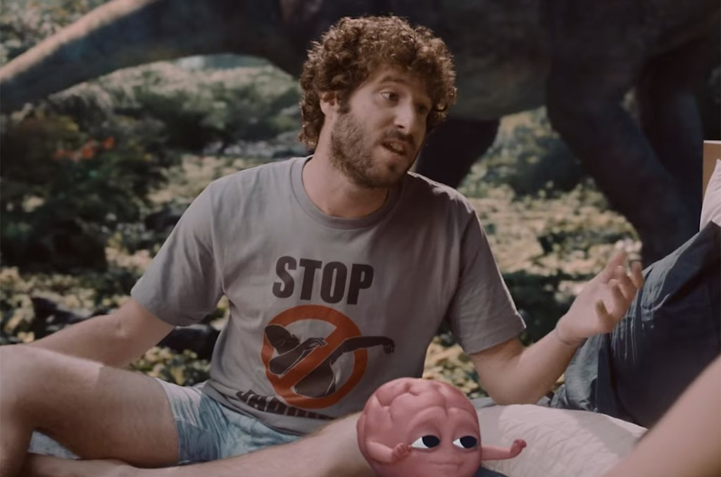 "Lil Dicky ft. Brian, ""Pillow Talking"""