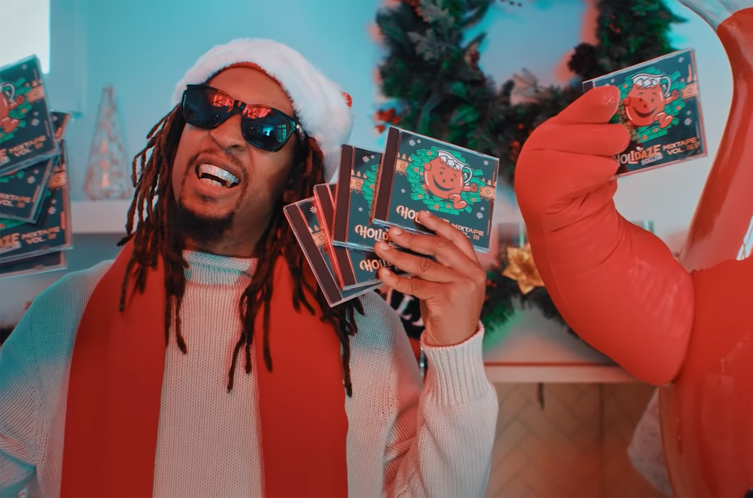 "Lil Jon ft. Kool-Aid Man, ""All I Really Want For Christmas"""