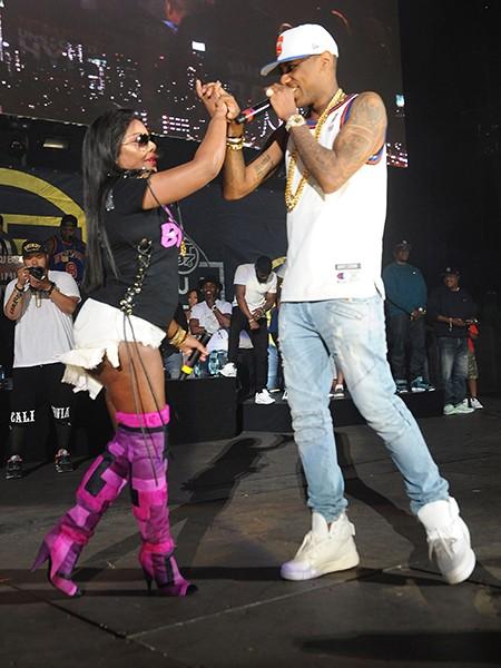 Lil Kim and Fabolous