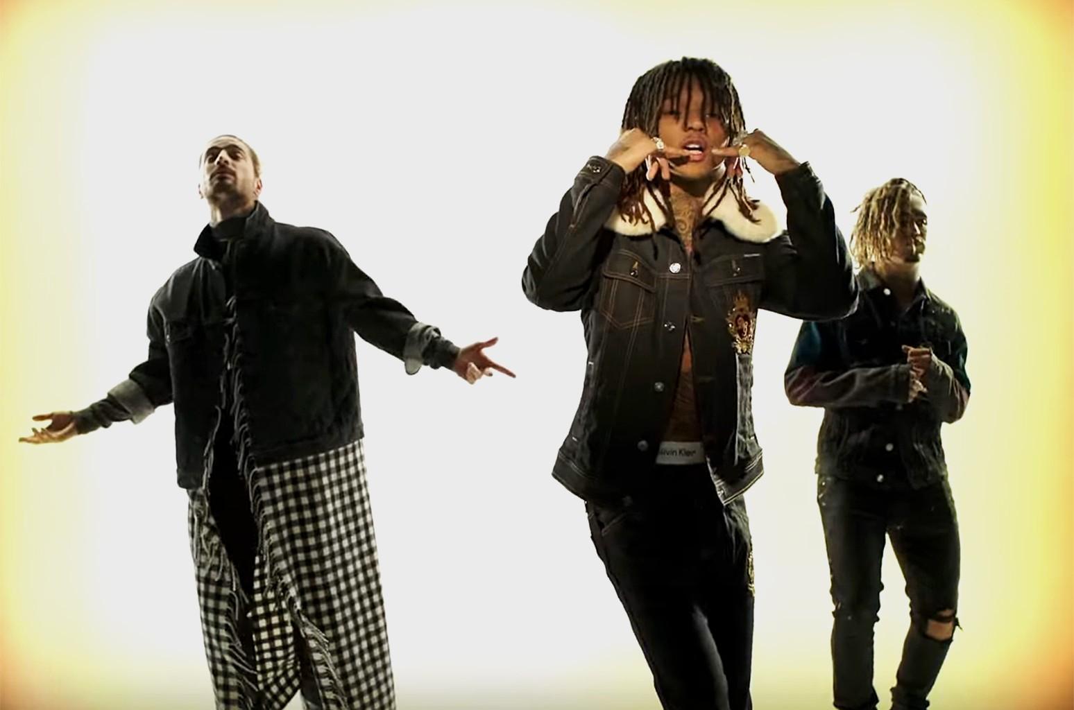 "XXXTENTACION & Lil Pump ft. Maluma & Swae Lee, ""Arms Around You"""