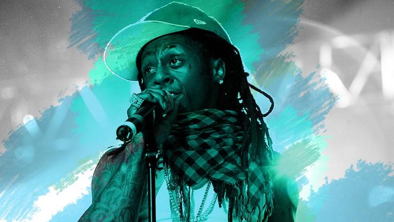 <p>Lil Wayne in 2008.</p>