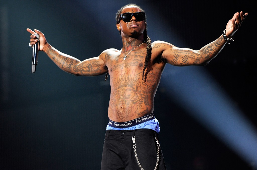 Lil Wayne performs in 2011