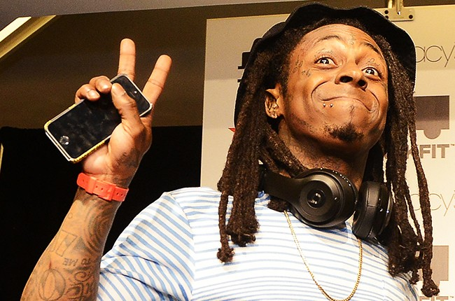 Lil Wayne Visits Macy's at Lenox Square
