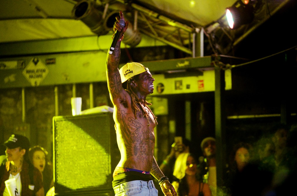 Lil Wayne performs onstage at the Mass Appeal music showcase during 2017 SXSW Conference and Festivals at Stubbs on March 16, 2017 in Austin, Texas.