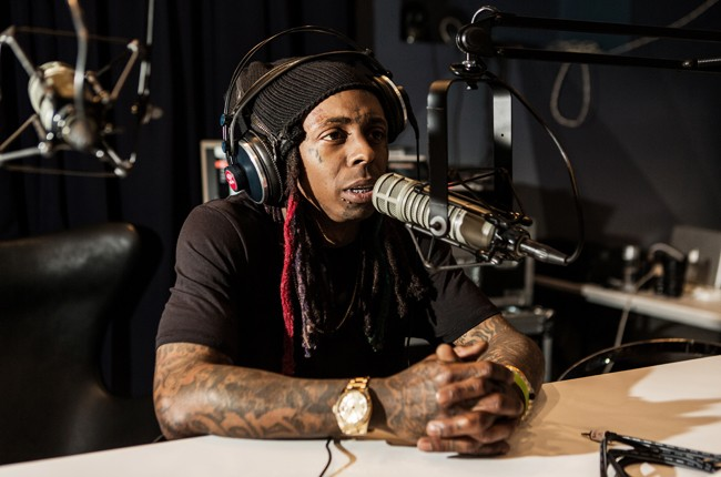 Lil Wayne performs at Red Bull Guest House in Miami