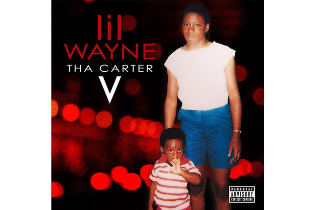 Lil Wayne Tha Carter V Album Art, 2014.