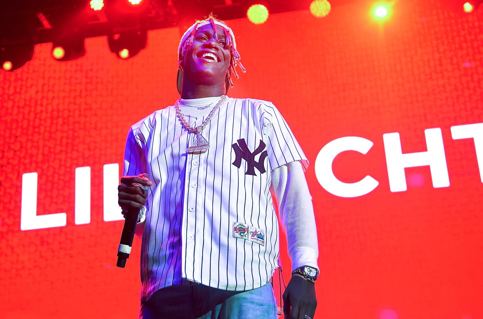 Lil Yachty performs at Prudential Center on Dec. 3, 2016 in Newark, N.J.