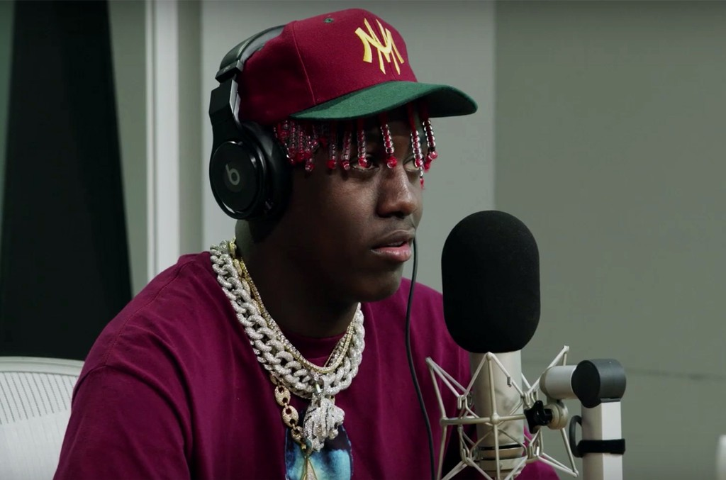 Lil Yachty during an interview with Zane Lowe on Beats 1 Radio.
