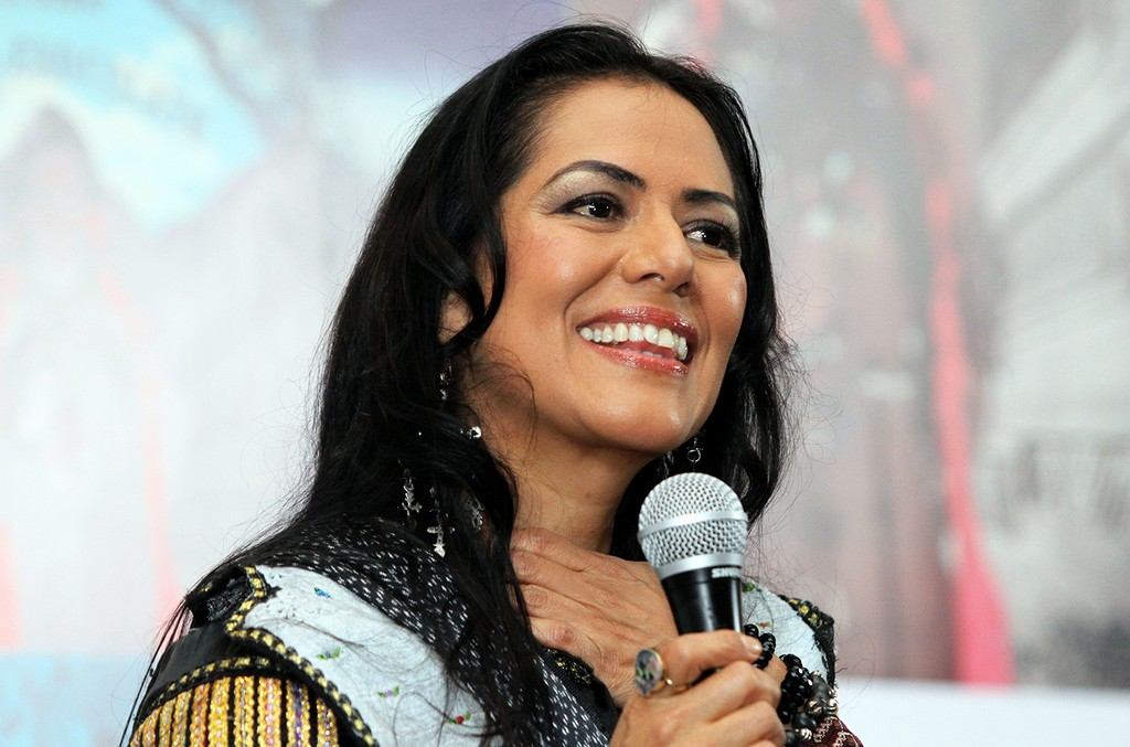 Lila Downs photographed in 2015.